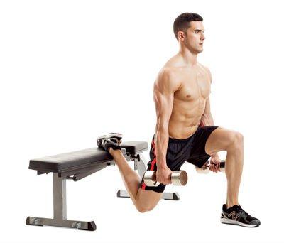 Dumbbell Bulgarian Split Squat The Best Exercise For ...