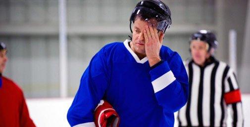 Hockey Injury slider