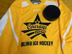 Blind Hockey