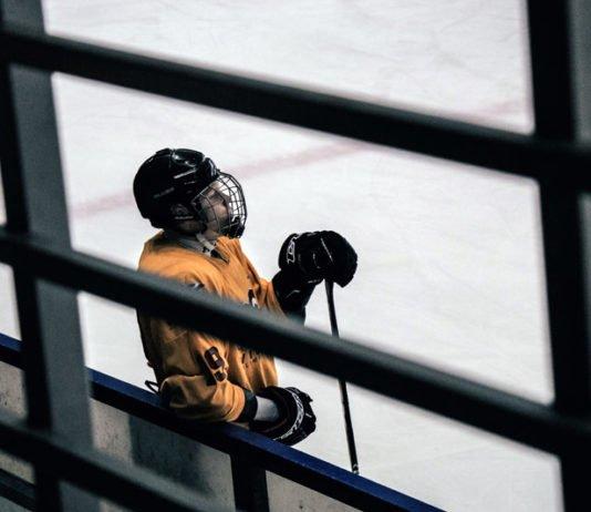 quit playing hockey