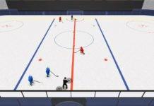 D Big 8 Four Passhockey drill