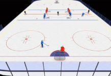 one-touch hockey drill