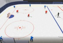 penalty kill cross-ice hockey drill