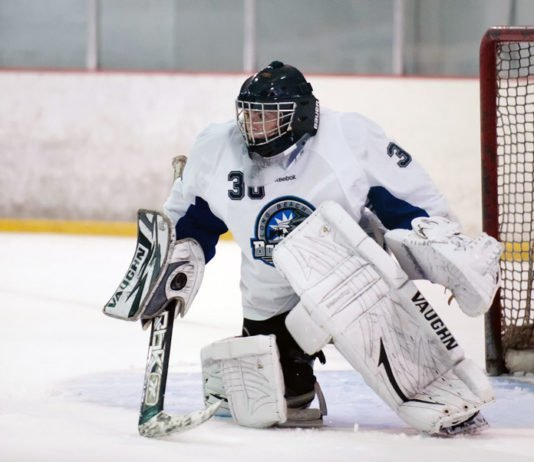 being a goalie mom