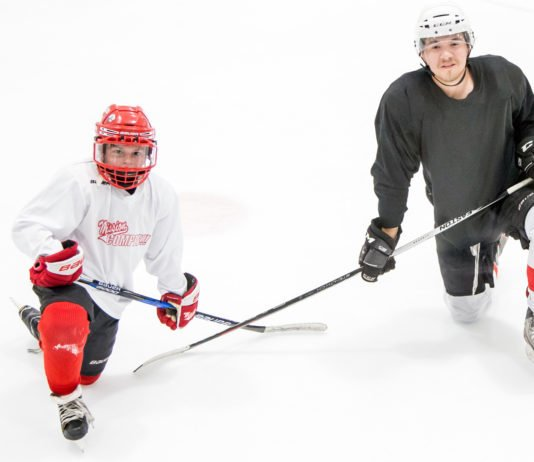 the power of the hockey dad